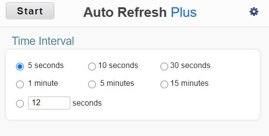 auto-refresh- plusの表示